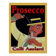 Prosecco, Man with Glass