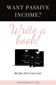 Are you a coach, speaker or creative entrepreneur looking to grow your business with passive income? Books make great passive income products! They are a fantastic way to grow your audience and make an impact with your message. And it doesn't have to be hard! Here I'm sharing my book writing process so you can start earning passive income with a book quicker than you thought possible!  #growyourbusiness #businesstips #passiveincome #makeanimpact #growyouraudience
