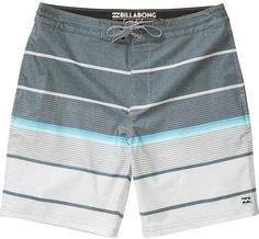 A new type of liquid courage. A vintage feel, stretch blend, and walkshort style pockets give the Lo Tides Series a beyond the beach edge. Billabong L. T Shorts, Swim Shorts, Billabong, Track Pants Mens, Streetwear Shorts, Mens Boardshorts, Lifestyle Clothing, Sport Pants, Swim Trunks
