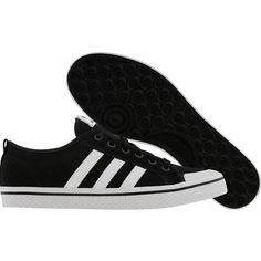 Adidas Womens Honey Stripes Low (black1 white black1) Shoes ( 52) ❤ liked 26feebfc78e