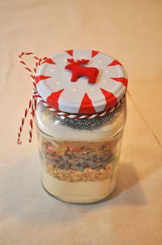 SOS cookies de Noël (la déco du pot est toute jolie)