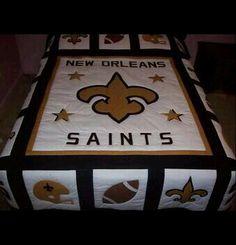 New Orleans Saints Bedding | My New Orleans Saints Diva Den | Pinterest |  Saints