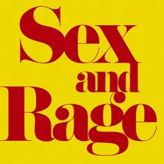 Sex and Rage by Eve Babitz