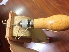 Como coser cuero y baqueta