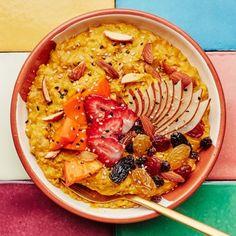 Sweet Potato Oatmeal Recipe, Sweet Potato Oven, Mashed Sweet Potatoes, Oatmeal Recipes, Make Ahead Breakfast, Breakfast Recipes, Vegan Breakfast, Breakfast Ideas, Second Breakfast