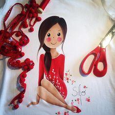 Toda espera tiene su significado, y toda vida, su amor...!!! #Silfo #red #waiting #life #love #paint #artist #handmade #madeinspain #smile #happy #instagram #picoftheday #monday #grancanaria #canaryislands