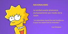 Racionalismo y Lisa Simpson