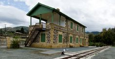 All aboard! First rail museum opens its doors in Evrychou.