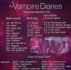 I got married to Stefan at the Mystic Grill cuz he turned me on (not!! Lol)