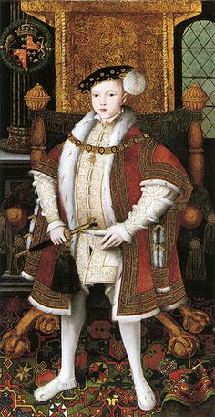 Edward VI of England,1546,after Scrots