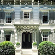 The beauty of Sag Harbor, as only Susan Kaufman can capture. Sag Harbor, White Houses, Garden Styles, Home Fashion, Old Houses, Home And Garden, Traditional, Mansions, Architecture
