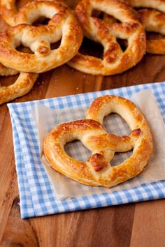 Auntie Anne's Pretzel's Copycat Recipe  <--- probably not as good, but worth a try!