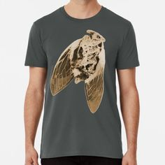 Cicada Premium T-Shirt Nice Gifts, Best Gifts For Men, Blue Springs, Black And White, Mens Tops, T Shirt, Shopping, Fashion, Top Gifts For Men