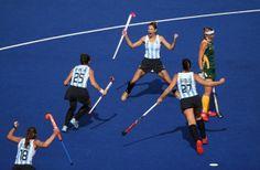 Luciana Aymar - Olympics Day 2 - Hockey