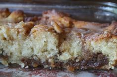Recipe Shoebox: Cinnamon Roll Cake