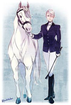 Horse & Victor - Yuri on ICE