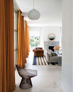 ambientes actuales gordijnen woonruimtes woonkamer modern kamerhoge gordijnen lange gordijnen