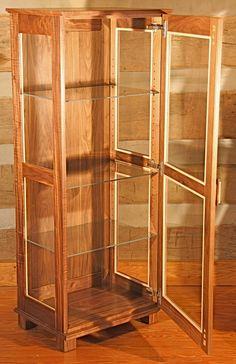 Curly Curio Cabinet