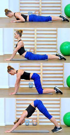Ćwiczenia na kręgosłup – zaczynasz dziś! Facial Exercises, Butt Workout, Zumba, Excercise, Pilates, Health Fitness, Yoga, Gym, Sports