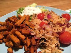 Ook lekker! Griekse rijst met gyros