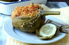 Cambia Menu » Carciofi al forno con nocciole | Ricette