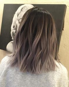 50 Fashionable Gray Ombre Hair Ideas for Women - Balayage Haare - Haarfarben Grey Ombre Hair, Hair Color Dark, Brown Hair Colors, Cool Hair Color, Brown To Grey Hair, Summer Hair Colour, Hair Color Ideas For Dark Hair, Cool Tone Brown Hair, Short Hair Colors