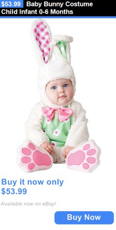 Halloween Costumes: Baby Bunny Costume Child Infant 0-6 Months BUY IT NOW ONLY: $53.99