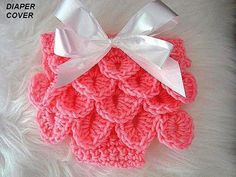 Crochet pattern, baby  Diaper Cover, num 416,  Crocodile Stitch Diaper Cover, handmade patterns, pdf digital download