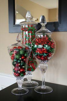 Christmas Apothecary Jars!