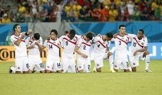Partido Costa Rica - Grecia, Mundial de Futbol Brasil 2014