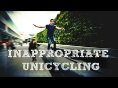 "I died when he fell off of it in the carwash. EVERYONE MUST WATCH THIS. ""You cawn't be dried, Jack.""  INAPPROPRIATE UNICYCLING 