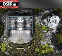 Star Wars, Age of Rebellion roleplaying game map 2 by henning on DeviantArt