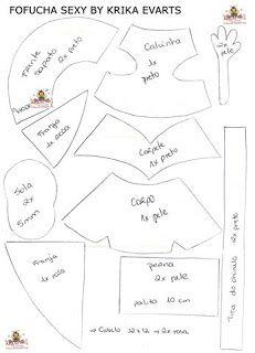 Los patrones de fofuchas que aqui encontraras son todos tomados de la web.                       El principito     ...