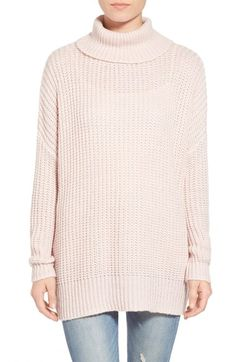 Leith Oversize Turtleneck Sweater available at #Nordstrom