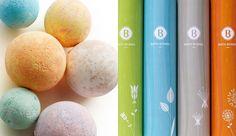 7_basin_packaging_studiompls Bath Bombs, Minneapolis, Basin, Packaging Design, Bamboo, Branding, Studio, Handmade, Brand Management