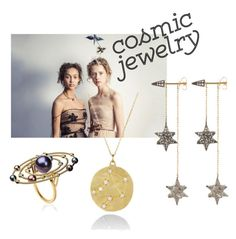 """""""Cosmic Jewelry"""" by moonsailor ❤ liked on Polyvore featuring cosmicjewelry"""