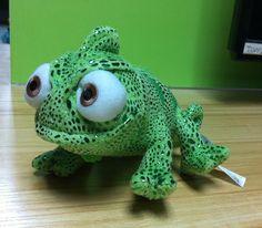 "New Tangled Rapunzel Pascal Green Chameleon 8"" Plush Toy G01"