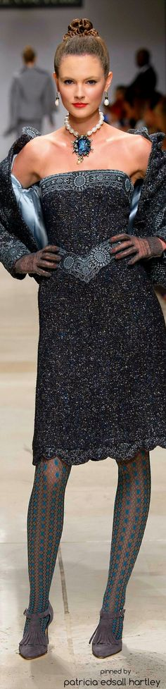 Raffaella Curiel Couture - 2015-16  Visit www.TheLAFashion.com for more Fashion insights and tips.