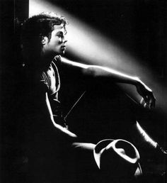 Michael Jackson - if he would have stopped with the surgery here, I think he would have been more accepted.  Such a terrific picture of the King.