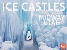Feature Friday | Haley | Midway Ice Castles | The Salt Project | Things to do in Utah with kids | Winter Activities | Things to do in Midway, Utah