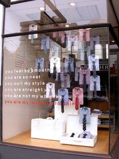 menswear merchandising inspiration