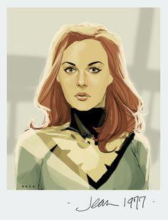 Jean Grey by Phil Noto