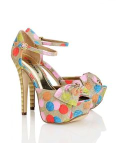 cute shoes for spring - polka dots + bows