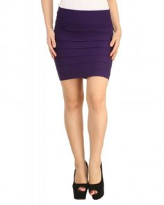 86121546de0 Buy Thick Fold Strap Mini Skirt at low prices in India only on Winsant.com