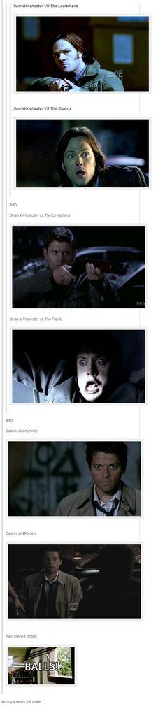 Supernatural vs....
