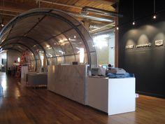 Reception Design. Youthography. Designed by SDI Interior Design.