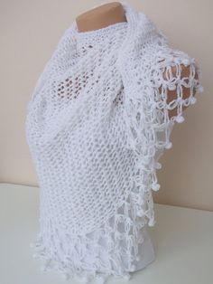 crocheted shawl my next project!