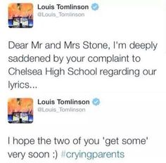 Remember when Louis just  I still laugh #3YearsofLWWY