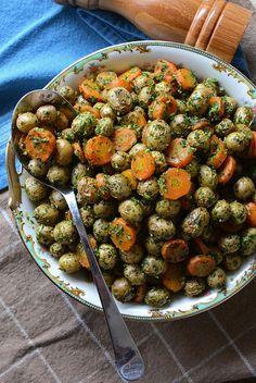 Carmen's Kitchen: Arugula Pesto Pasta With Mushrooms Recipe: A Perfect ...