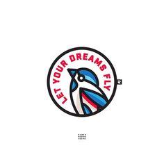 Logo Branding, Branding Design, Logo Design, Art Design, Logo Professionnel, Eagle Mascot, Lab Logo, Eagle Art, Learning Logo